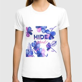 Hide Behind T-shirt