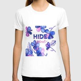 Hide Behind T-shirt