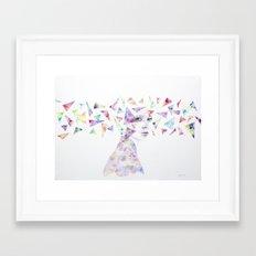 △▽△ Framed Art Print