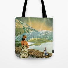 The Beginning or The End Tote Bag