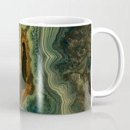 The world of gems - green agate Coffee Mug