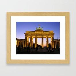 Brandenberg Gate Framed Art Print