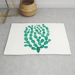 Prickly Pear Cactus Rug