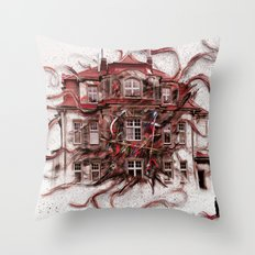 Lebendige Zeit Throw Pillow