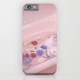 Flower Bath 9 iPhone Case