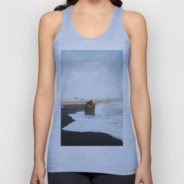 Black Sand Beach, South Iceland Unisex Tank Top