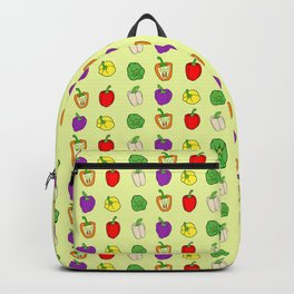 Colorful Bell Peppers Backpack