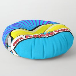 Fresh Till Death Floor Pillow
