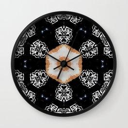 Kaleidiscope Eyes Wall Clock