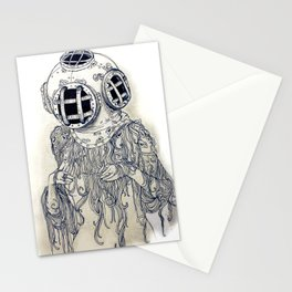 Ghost Diver Stationery Cards