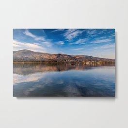 Llanberis Lake Reflections Metal Print
