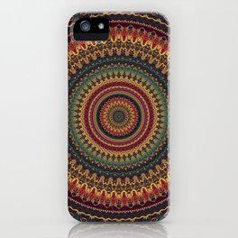 Mandala 488 iPhone Case