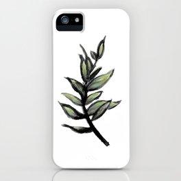 Sprig of Leaves - Katrina Niswander iPhone Case