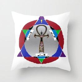 D3T Artsy Logo Throw Pillow