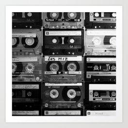 80s Cassette Art Print