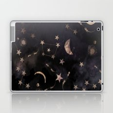 Moon, Stars, Geometric, Artwork, Laptop & iPad Skin