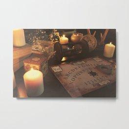 Ouija board Metal Print