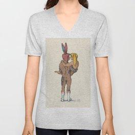 Honey Bunny Unisex V-Neck