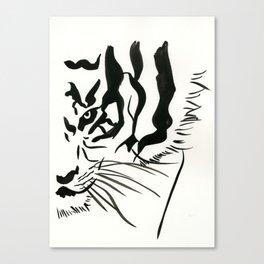 Eye of a Tiger Canvas Print