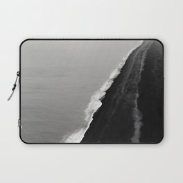 BLACK SAND BEACH Laptop Sleeve