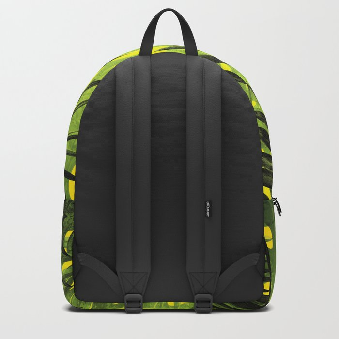Tropical Leaves Aloha Jungle Garden Backpack
