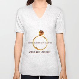 through thick and thin Unisex V-Neck