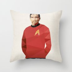 Polygon Heroes - Scotty Throw Pillow
