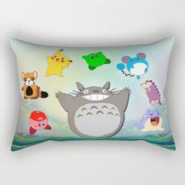 Video game Anime Character Rainbow Rectangular Pillow
