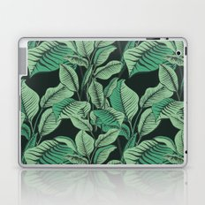 Exotic Tropical Banana Palm Leaf Print Laptop & iPad Skin