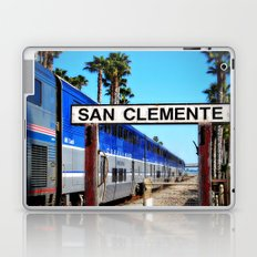 San Clemente Surfliner Laptop & iPad Skin