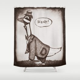 Honk! Shower Curtain