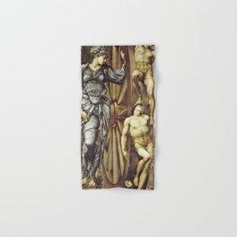 Edward Burne-Jones  - The Wheel of Fortune - Digital Remastered Edition Hand & Bath Towel