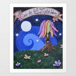 Full Moon Magic Art Print