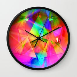 Prismatic Wall Clock