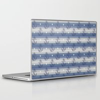 anchors Laptop & iPad Skins featuring Anchors by Vickn