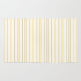 Yellow striped Rug