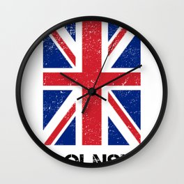 Lincolnshire Print  Wall Clock