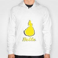 belle Hoodies featuring Belle by husavendaczek