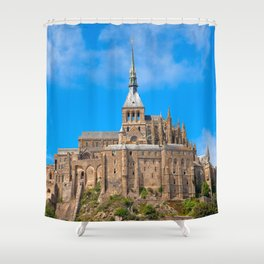 Mont Saint-Michel Shower Curtain