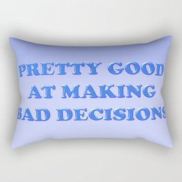 Decisions Rectangular Pillow