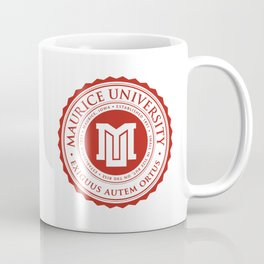 Maurice University Seal Coffee Mug