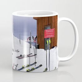 Skiers can't read ;o) Coffee Mug
