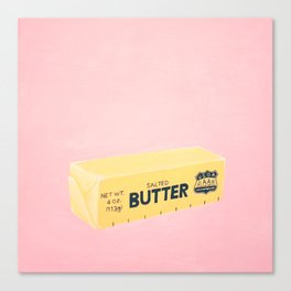 The Butter The Better Canvas Print