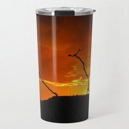 Desert Sky on Fire Travel Mug
