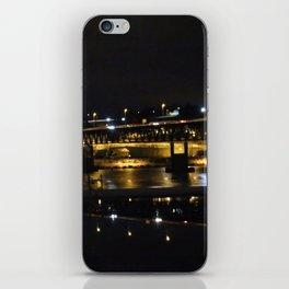 All black iPhone Skin