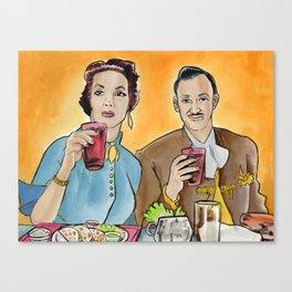 Buen Provecho Canvas Print