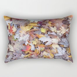 leaf litter menagerie Rectangular Pillow