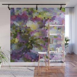 Crystallized Purple Hydrangea Wall Mural