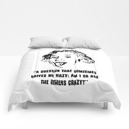 Einstein Crazy Comforters