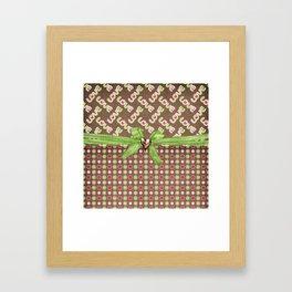 Colorful Love Framed Art Print
